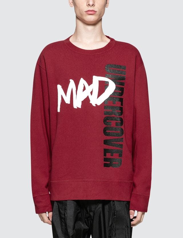 Undercover Mad Undercover Sweatshirt Red Men