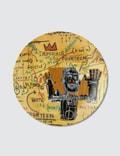 """Ligne Blanche Jean-Michel Basquiat """"All Colored Cast"""" Limoges Porcelain Plate Picture"""