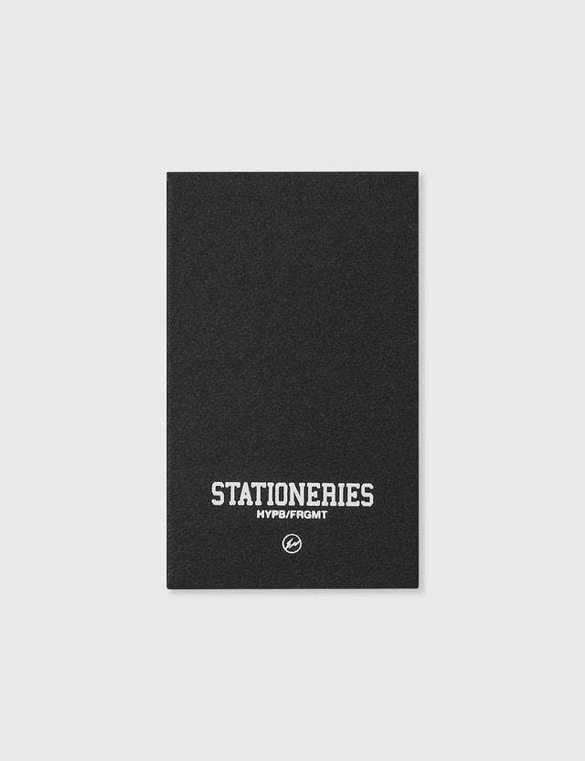 Stationeries by Hypebeast x Fragment HYPB/FRGMT 노트패드 Black Men