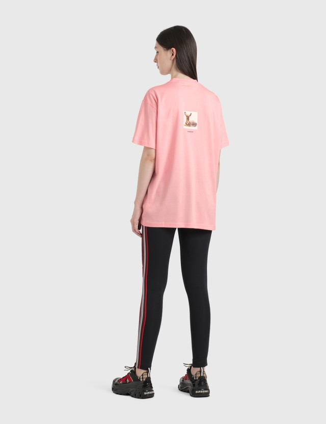 Burberry Logo Graphic Stretch Jersey Leggings