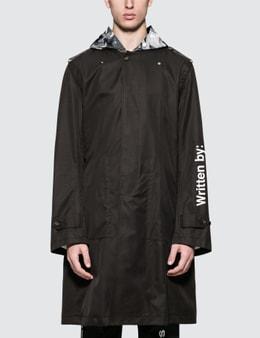Takahiromiyashita Thesoloist Wrapped Collar Rain Coat