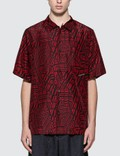 Alexander Wang Silk Printed Logo Shirt Picture