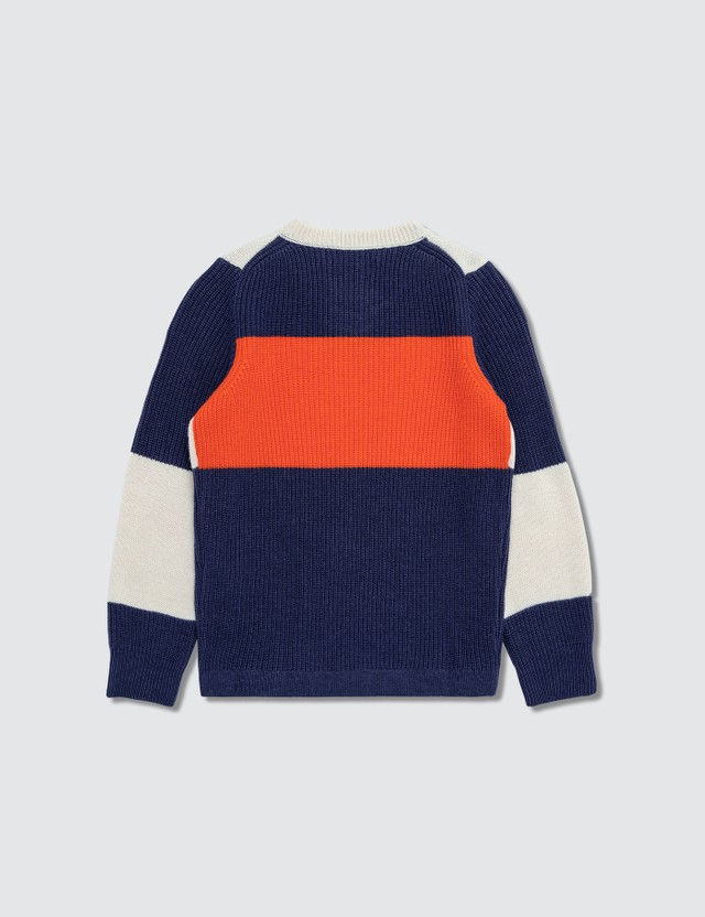 Stone Island Compass Logo Knitted Jumper (Kids)