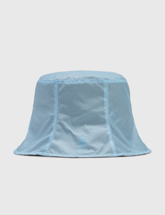 Kangol See All Rev Rain Bucket Black/blue Tint Men