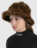 Kangol Faux Fur Casual Leopard Women