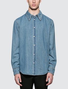 Calvin Klein 205W39NYC Cotton Denim Shirt