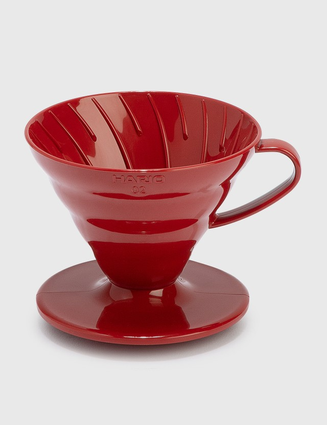 Hario V60 Coffee Dripper 02 / Red (PP) N/a Unisex