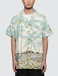 Wacko Maria Palms Tree' S/S Hawaiian Shirt Picutre