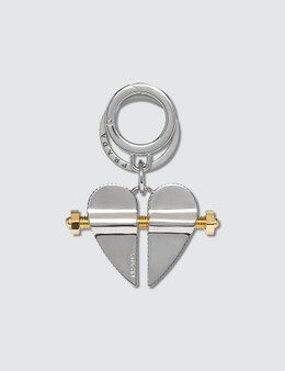 Prada Heart Key Chain Picture