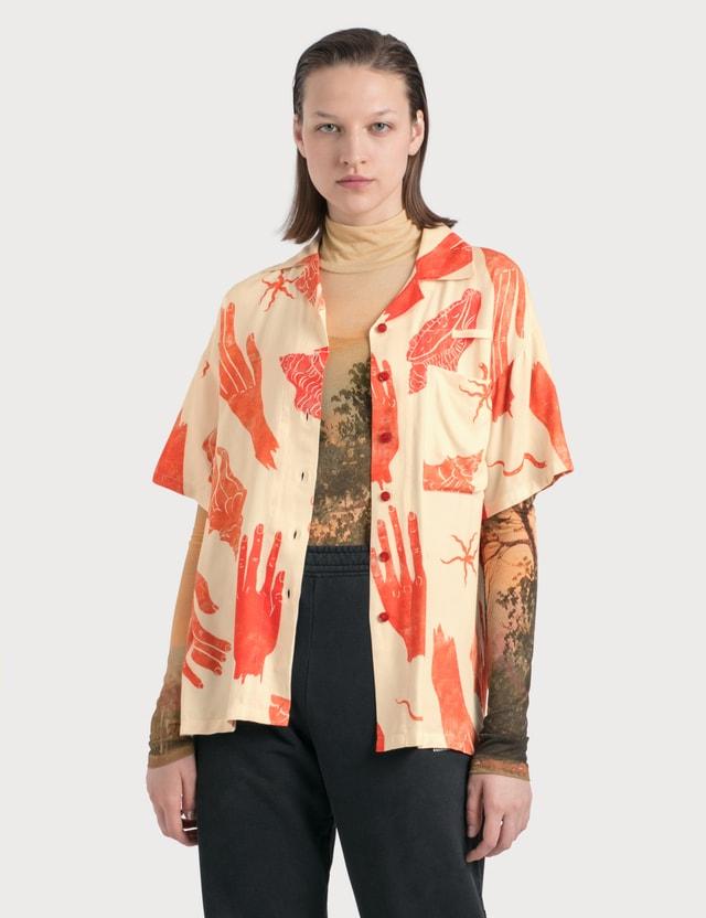 Acne Studios Simonne Printed Viscose Shirt