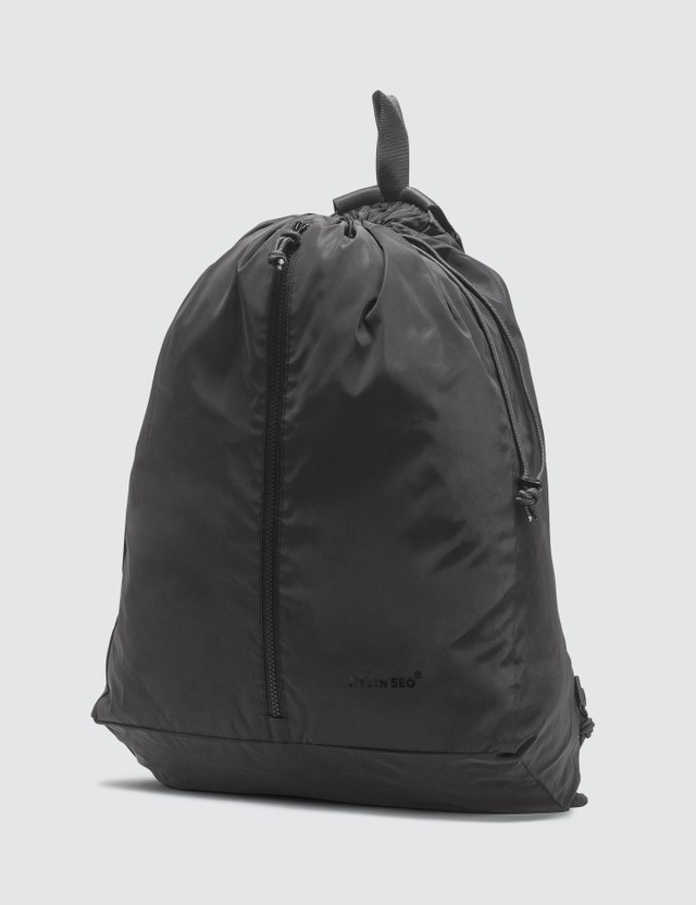 Hyein Seo Nylon Reflective Backpack