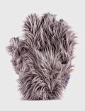 Crosby Studios Gray Furry Hand Pillow Picutre