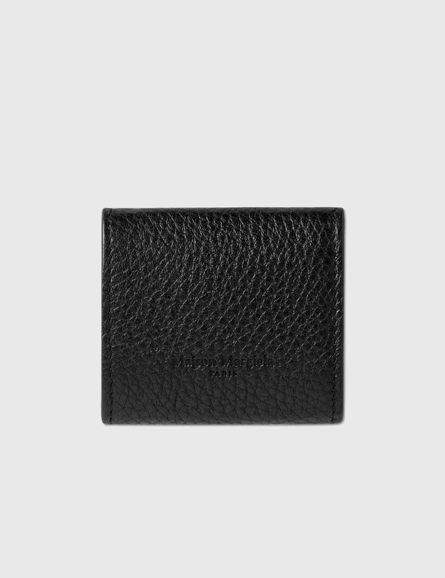Maison Margiela Folded Coin Case Black / Silver Men