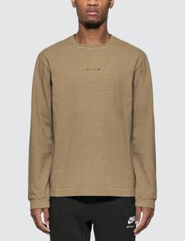 1017 ALYX 9SM Logo Long Sleeve T-shirt