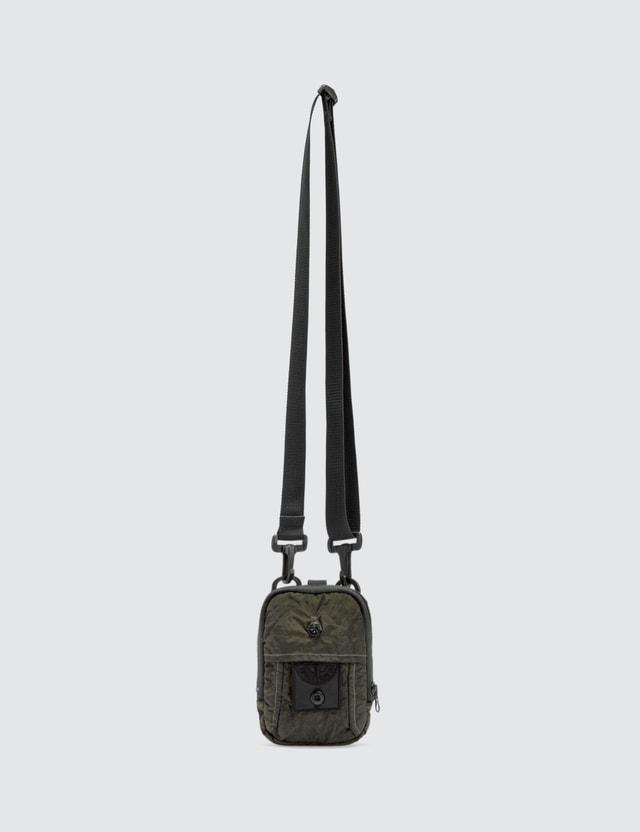 Stone Island Shadow Project Compass Nylon Crossbody Bag