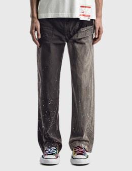 Maison Mihara Yasuhiro Docking Hickory Pants