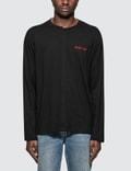 Helmut Lang Cut Neck L/S T-Shirt Picture