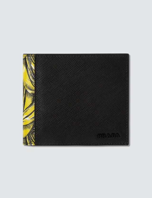Prada Bananas Billfold Wallet