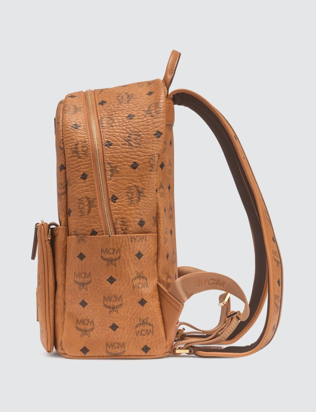MCM Trilogie Stark Backpack in Visetos