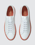 Common Projects Achilles with Colored Sole Sneaker