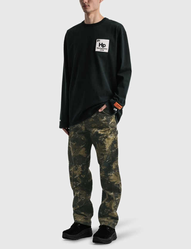 Heron Preston Herons Halo Long Sleeve T-shirt Black Men