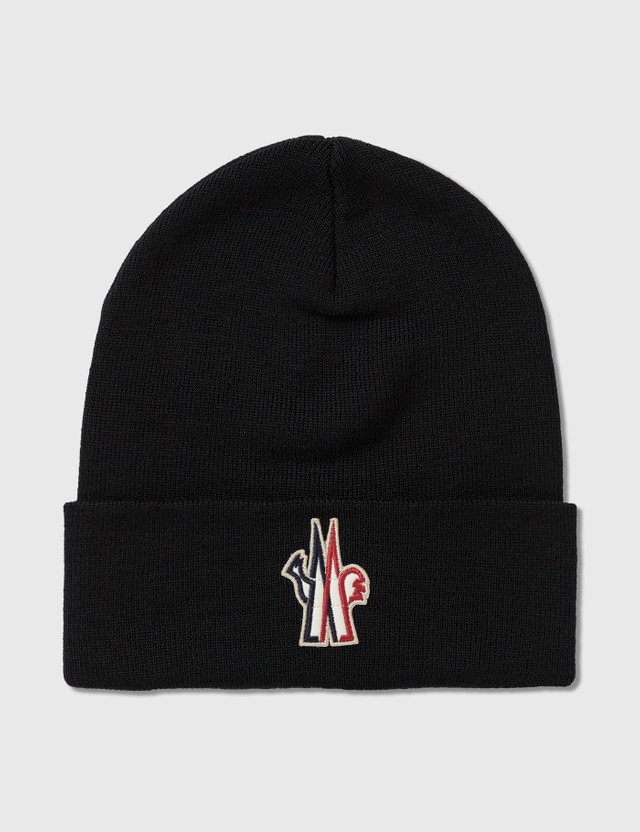 Moncler Embroidered Logo Beanie