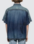 Sacai Dr. Woo Denim Shirt