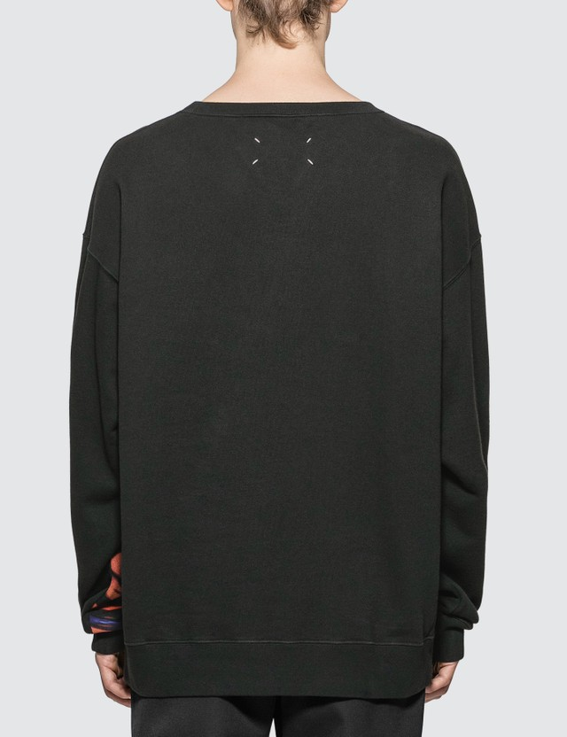 Maison Margiela Flower Sweatshirt