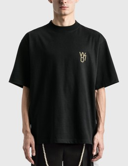 We11done Pearl Logo T-Shirt