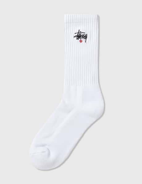 스투시 Stussy Basic Logo Crew Socks