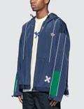 Maison Kitsune Ader Error x Maison Kitsune Tetris Fox Zip-Up Jacket