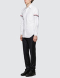 Thom Browne Classic L/S Button Down Point Collar Shirt