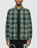 Stussy Big Wale Cord Zip Up Long Sleeve Shirt Picture