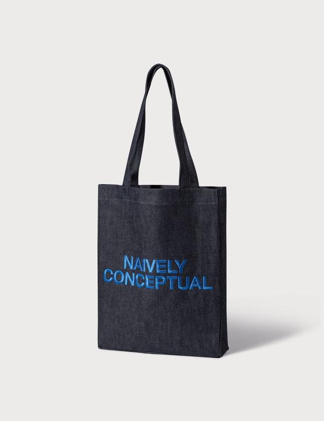 A.P.C. Natively Conceptual Denim Tote Bag