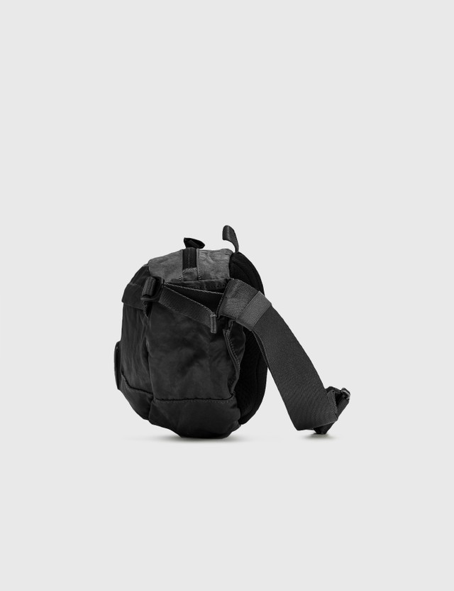 CP Company Lens Nylon Belt Bag Black Men