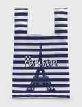 Maison Kitsune Parisien Tower Stripes Nylon Bag Picutre