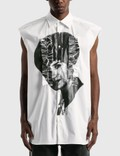 Raf Simons Graphic Printed Sleeveless Shirt 사진