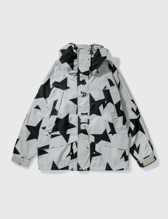BAPE Bape Star Windbreaker Jacket Grey Archives
