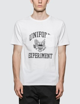 uniform experiment Uen Eagle Pocket T-Shirt