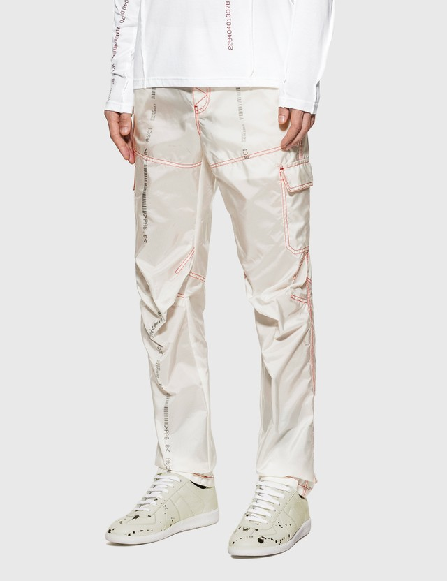 KANGHYUK Readymade Airbag Six Pocket Trouser Off White Men