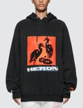 Heron Preston Herons Graphic Print Hoodie Picture