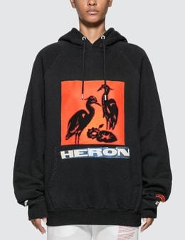 Heron Preston Herons Graphic Print Hoodie
