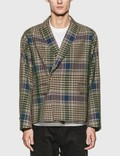 JieDa Check Double Tailored Jacket 사진