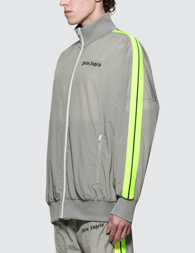 Palm Angels Loose Fit Track Jacket