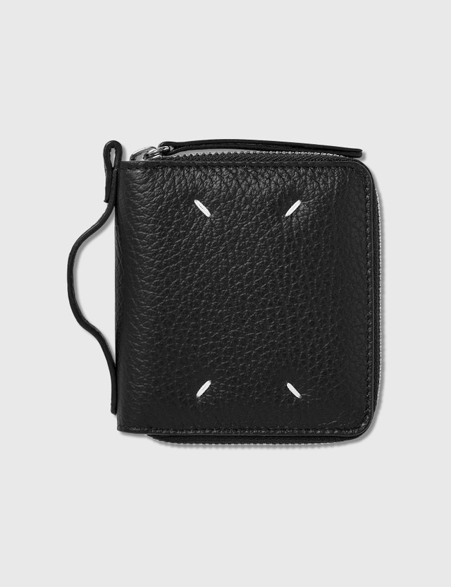 Maison Margiela Small Zip Wallet With Holder