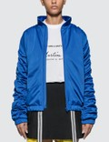 Martine Rose Stripe Ruched Track Jacket Picture