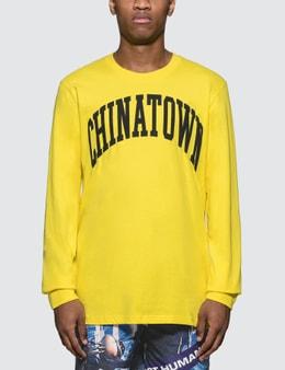 Chinatown Market Arc Logo Print L/S T-Shirt
