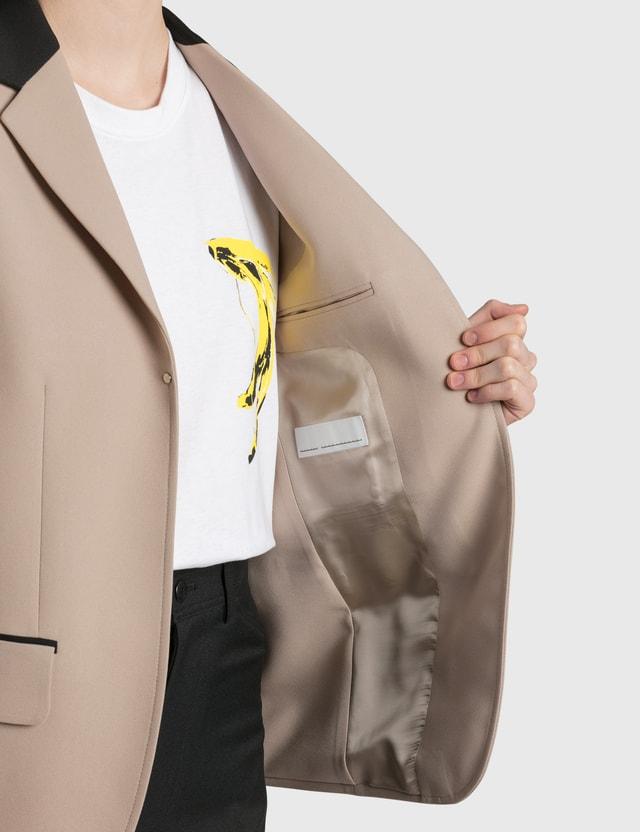 Random Identities Buttonless Blazer
