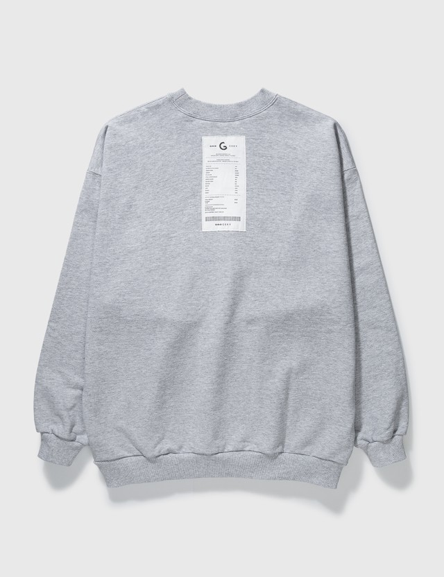 Grocery SW-005 Reversible Blue Sweatshirt Blue Men