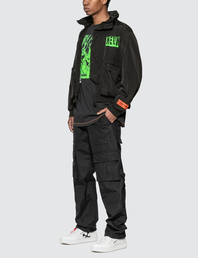 Heron Preston Nylon Windbreaker